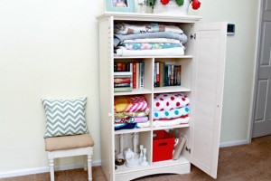 Cottage Inspired Storage Solution ~ My Sauder Experience