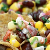 Corn and Black Bean Salsa Recipe ~ Make In Minutes