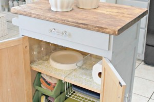 Organizing in the Kitchen with Duck® Brand Shelf Liner