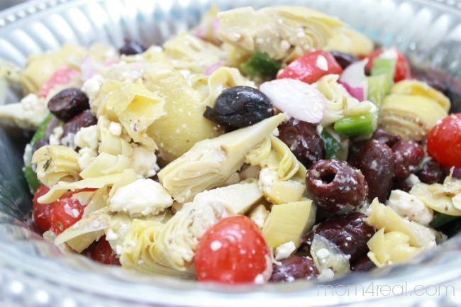 Easy Greek Artichoke Salad