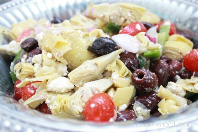 Easy Greek Artichoke Salad