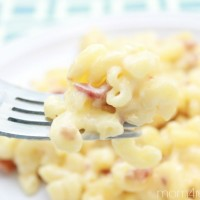 Smoked Bacon Mac and Cheese ~ From The Microwave!!!