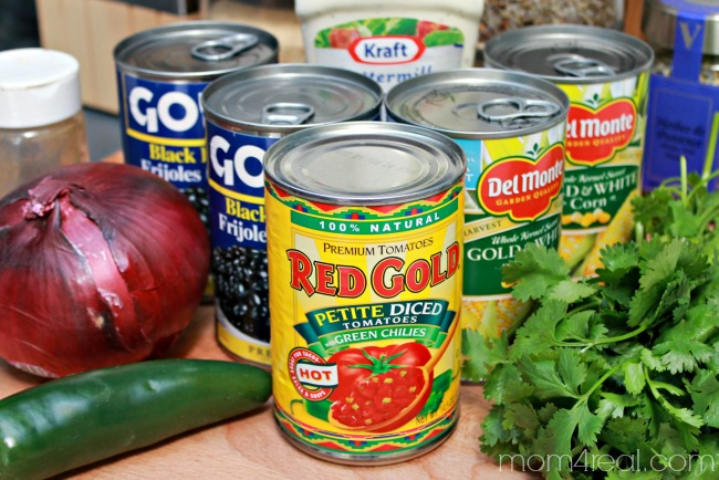 Make-Black-Bean-Salsa-In-Minutes-Using-Canned-Foods