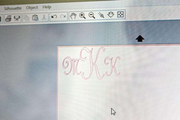 Make-a-cuttable-monogram-using-a-silhouette-machine