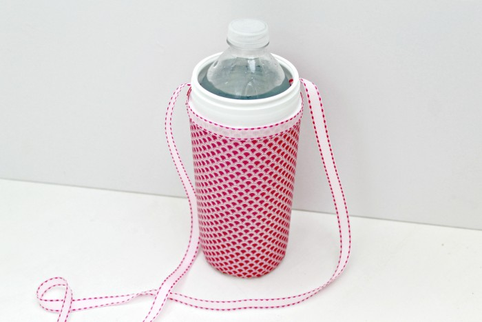 Wet One's Container Upcycled Into a Portable Water Bottle Holder