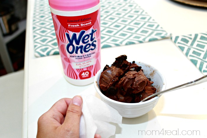 Wet One's Ice Cream