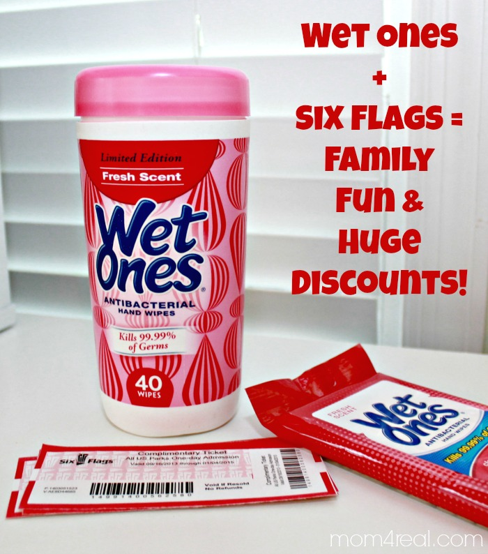 Wet One's and Six Flags Discounts