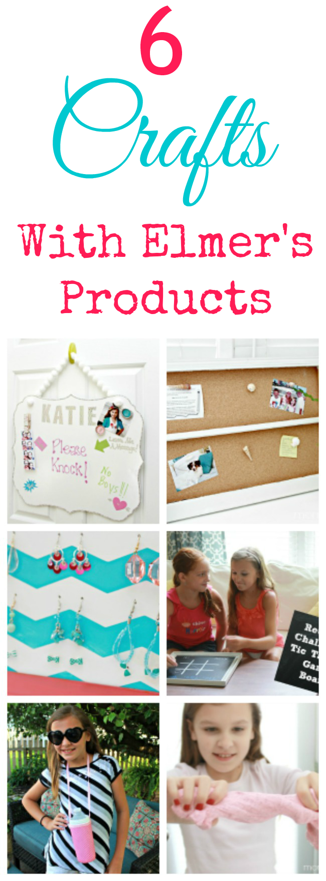 6 Fun Craft Projects Using Elmer's Products