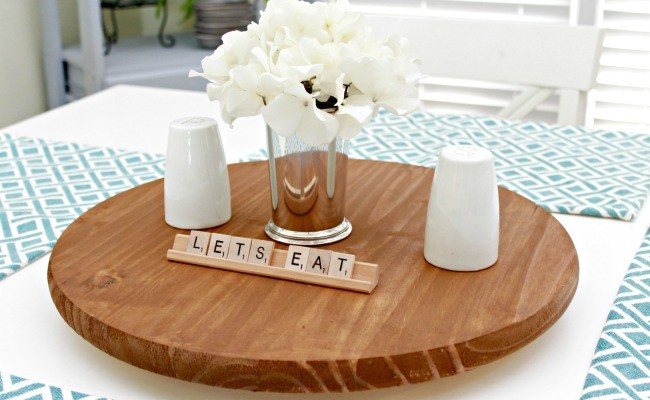 Make Your Own Lazy Susan for Your Table!