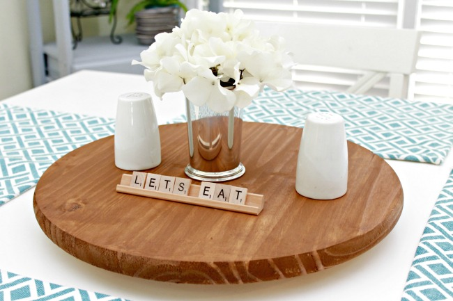 Lazy Susan For Table Simple Make Your Own Lazy Susan For Your Table Mom 60 Real