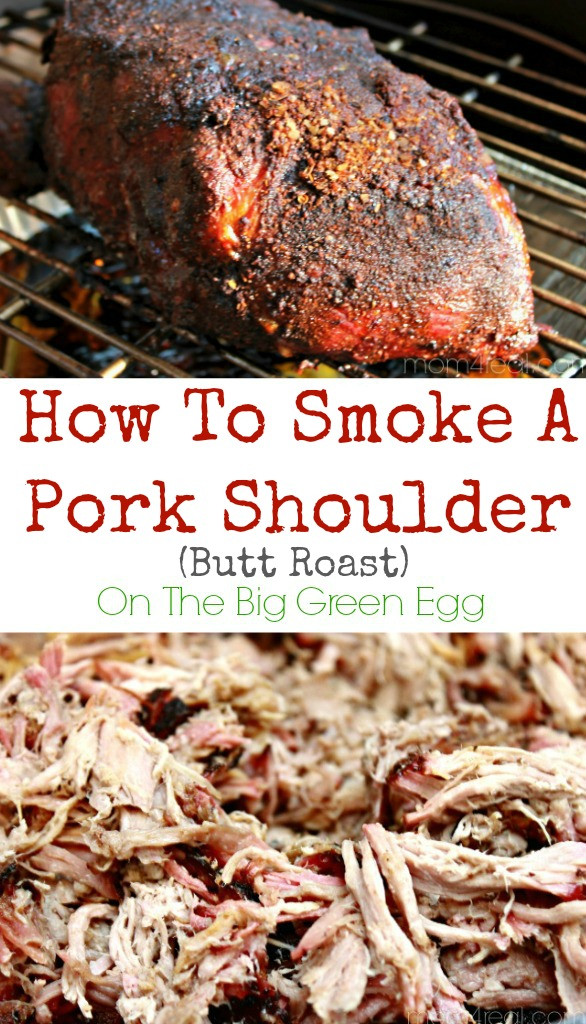 How To Smoke A Pork Shoulder (Pork Butt) On The Big Green Egg