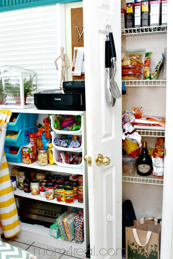Additional Pantry Storage