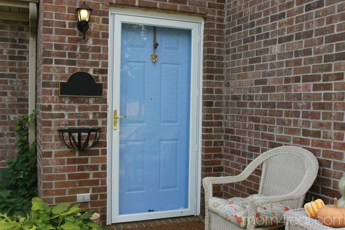 Blue Door Before