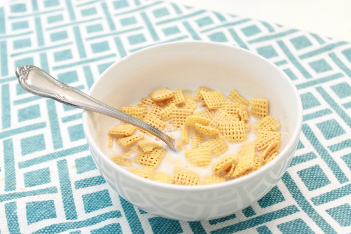 Cereal with Silk Almondmilk