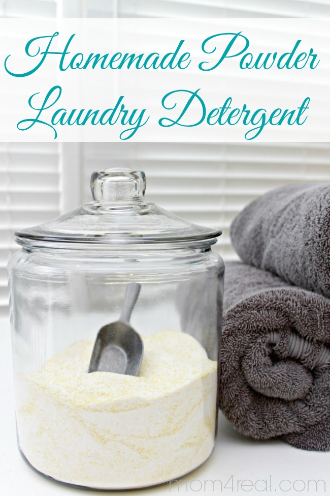 Homemade Laundry Detergent Powder Recipe