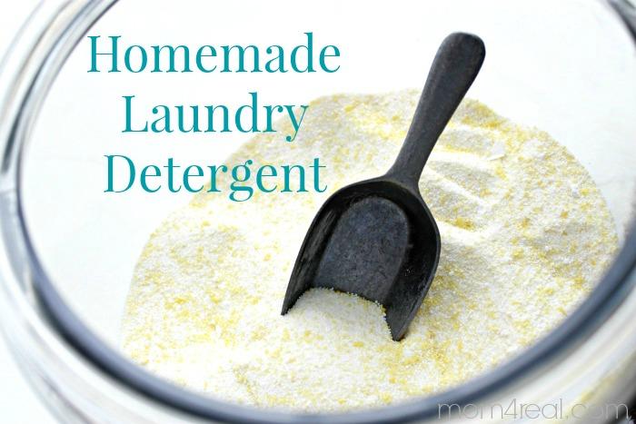 Homemade Laundry Detergent Powder Recipe Mom 4 Real