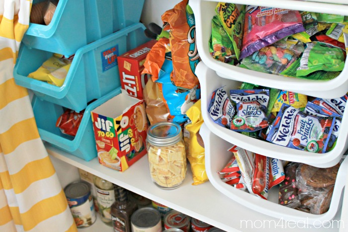 Pantry and Snack Storage Ideas