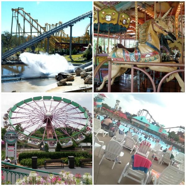 kentucky kingdom collage