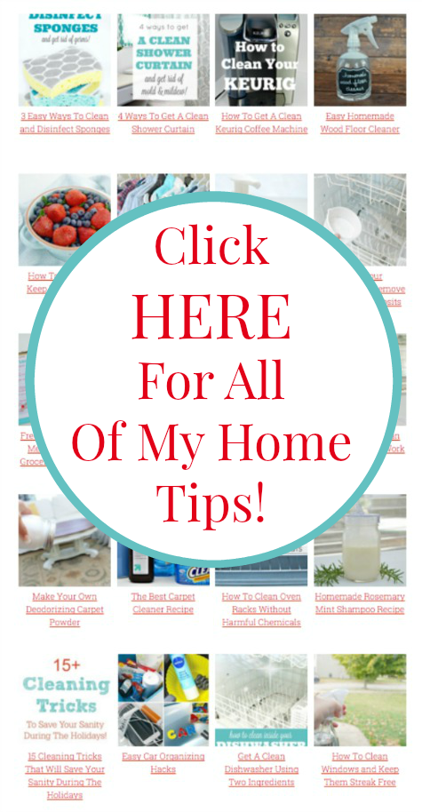 Hundreds of home tips and cleaning hacks at mom4real.com