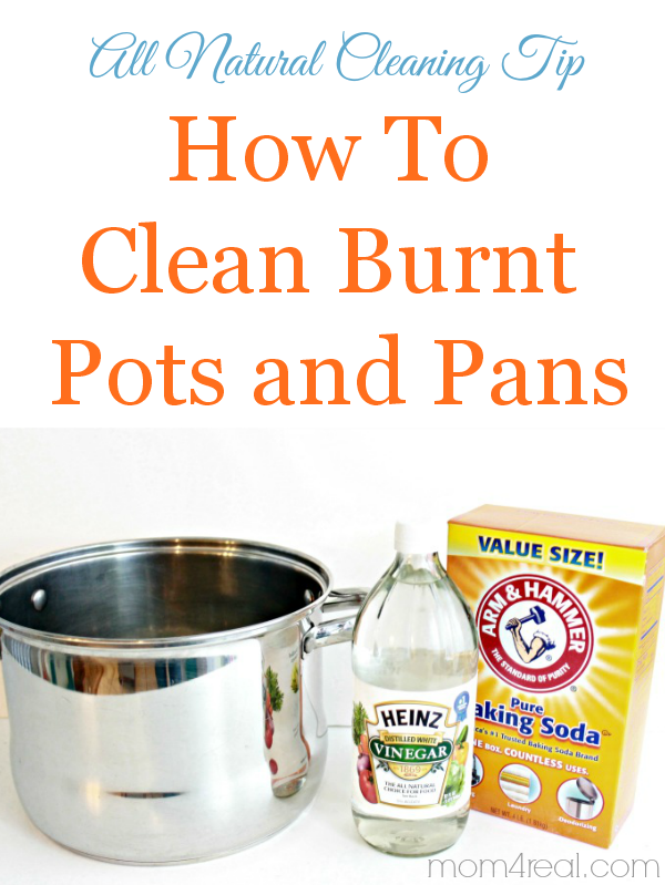 How To Clean Burnt Pots And Pans In Minutes No Chemicals Needed
