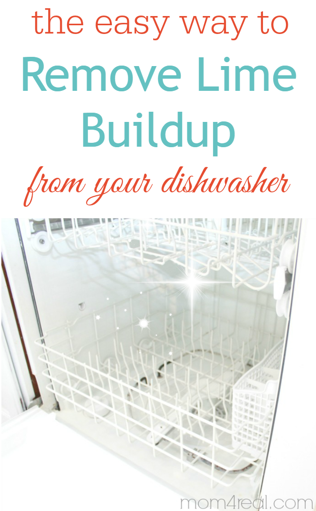 Clean Your Dishwasher & Remove Hard Water Deposits - Mom 4 Real
