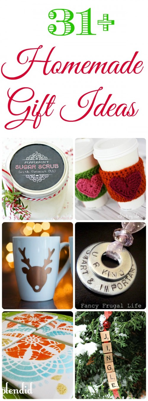 31 Homemade Christmas Gift Ideas Mom 4 Real