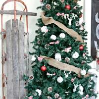 Living Room Christmas Decor Reveal #BigHoliday