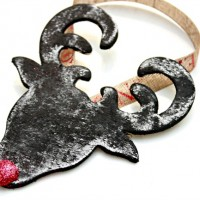 Chalkboard Rudolph Ornament – Day 2 of 12 Days Of Ornaments!