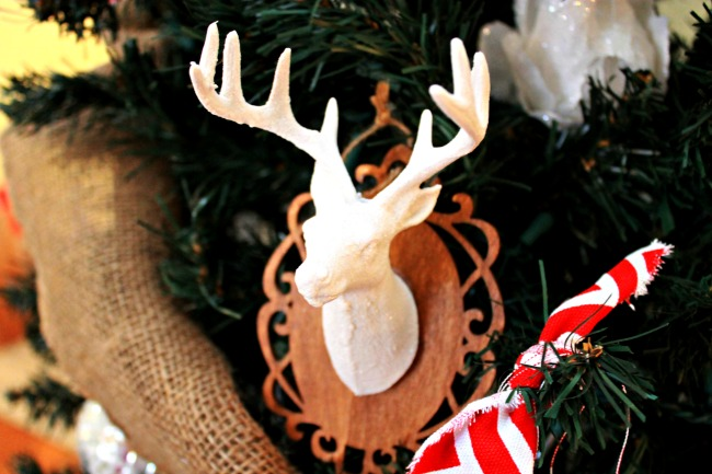 Deer Head Ornament - Day 8 of 12 Days of Christmas Ornaments