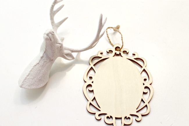 Deer Head Ornament - Day 8 of 12 Days of Christmas Ornaments - Mom ...