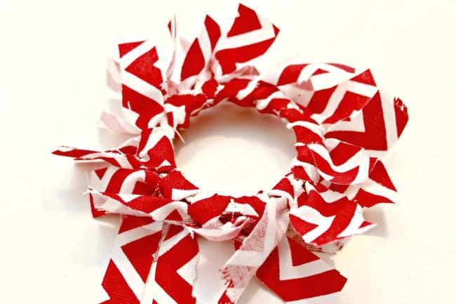 Mason Jar Ring Fabric Christmas Ornament - Day 3 of 12 Days of Christmas Ornaments