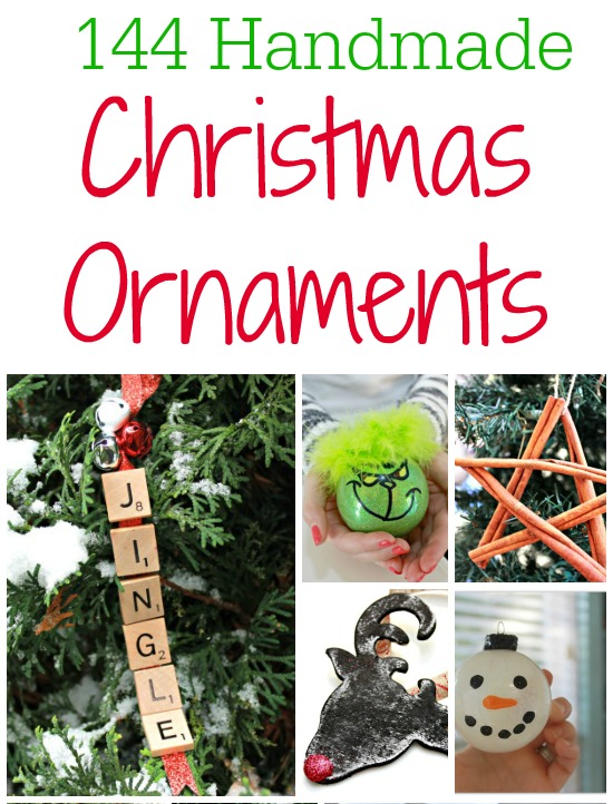 144 Handmade Christmas Ornament Ideas