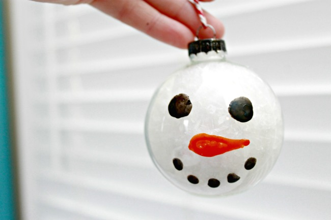 Painted-Snowman-Ornament