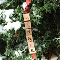 Jingle Bells Scrabble Christmas Ornament – Day 9 of 12 Days of Ornaments