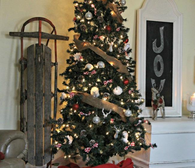 Living Room Christmas Decor Reveal
