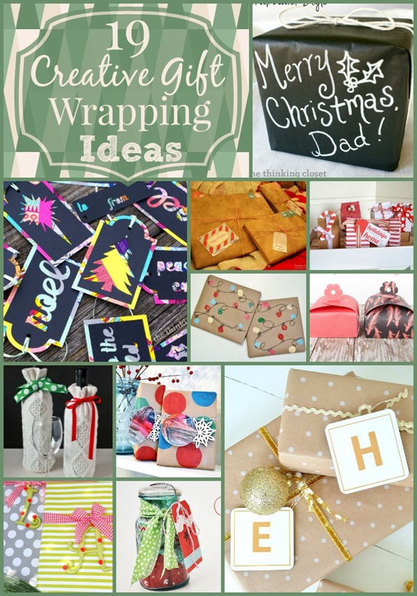 19 Creative Gift Wrapping Ideas