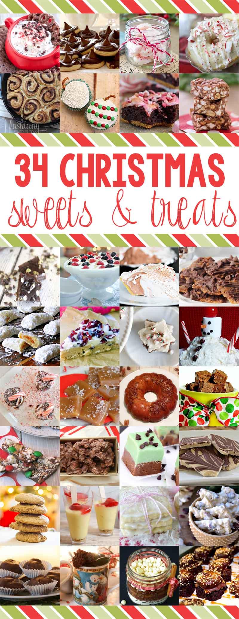 34 Amazing Christmas Dessert Treats You Can Make This Holiday Season