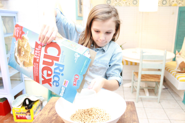 Making-chex-party-mix