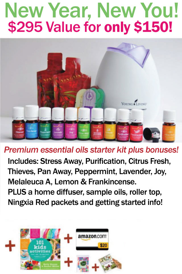 Essential Oils Deal January 2015 - Mom 4 Real
