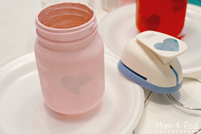 Chalk-Painted-Mason-Jar-Lanterns