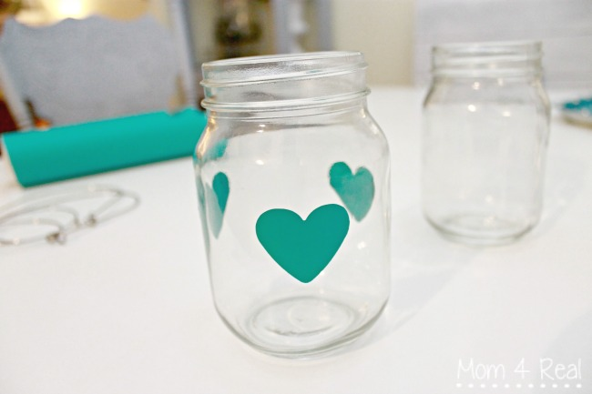 Valentine S Day Painted Mason Jar Lanterns Mom 4 Real
