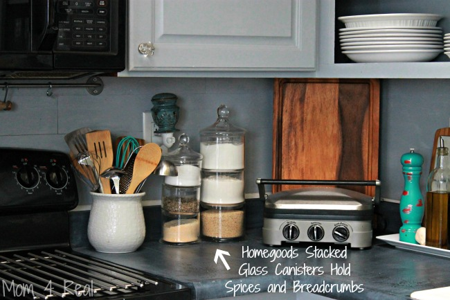 Inexpensive Kitchen Storage Ideas simple and inexpensive kitchen storage ideas - mom 4 real