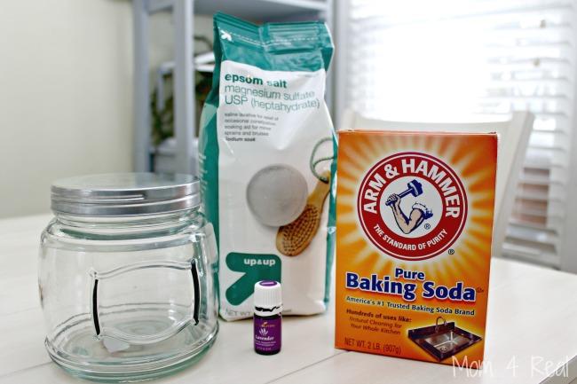 Homemade Lavender Bath Salts For Destressing and Detoxing