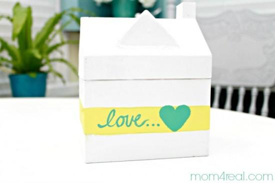Paint-a-paper-mache-Valentine-Gift-Box