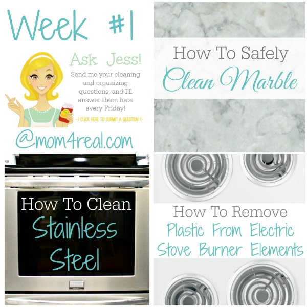 How To Clean Electric Stove Coils, Marble and Stainless Steel – Ask Jess Week 1