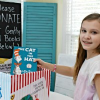 Make A Book Donation Station – Encourage Giving In Tweens!