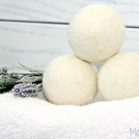 Use Dryer Balls and Ditch The Dryer Sheets