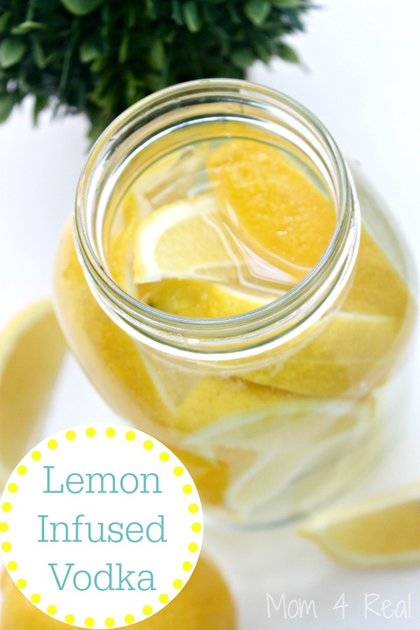 How To Make Lemon Infused Vodka In Minutes