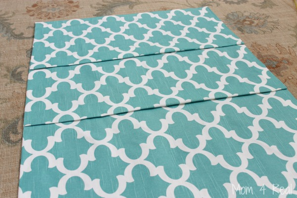 Easy No Sew Roman Shade Tutorial