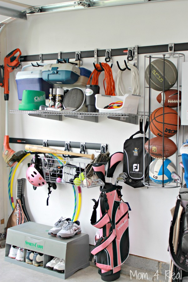 Super Easy Garage Organization Ideas